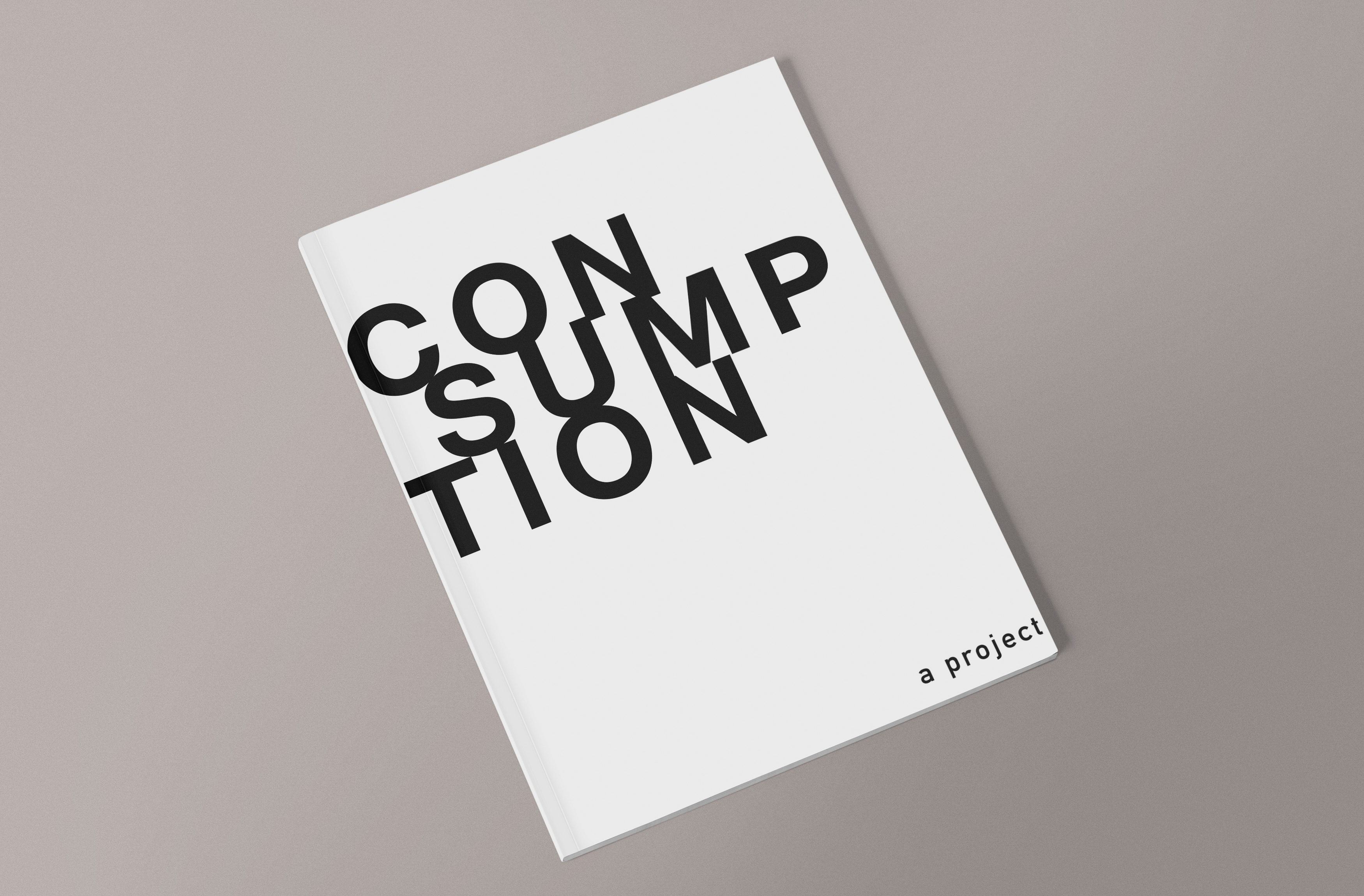 Consumption Zine by Marius Ladner